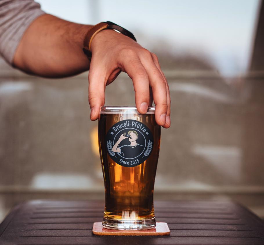 Privat – Logo für eigene Biermarke