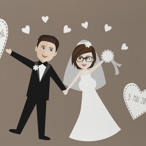 Privat – Personalisiertes Hochzeitsbild