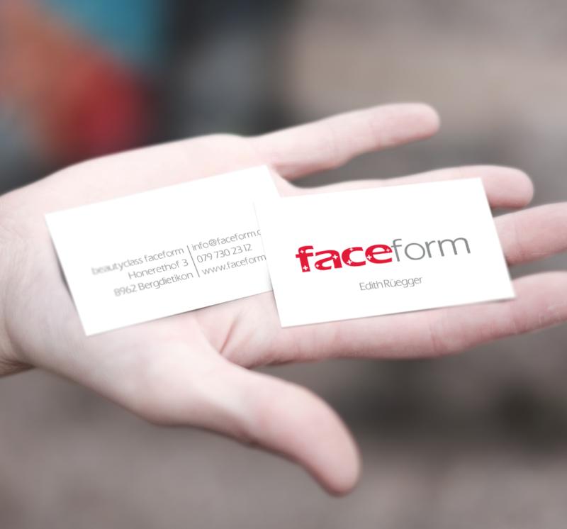 faceform – Visitenkarte