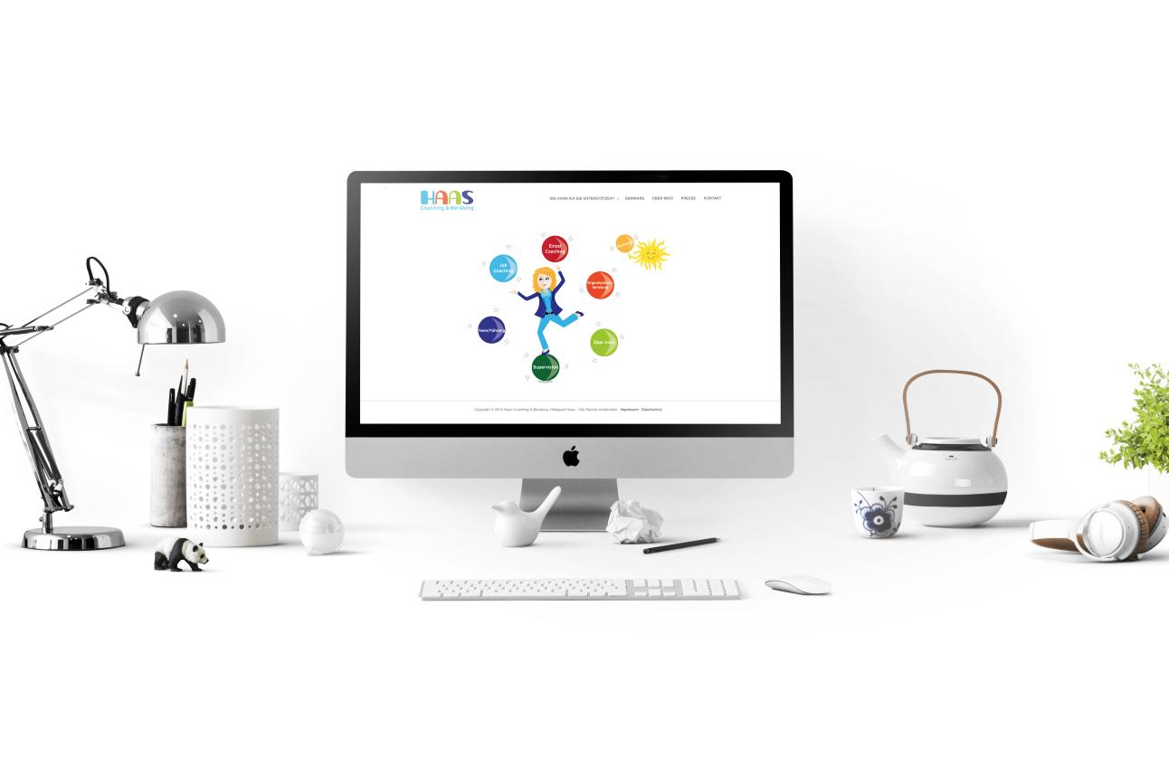 Logo Und Webdesign Und Visitenkarten Haas Coaching
